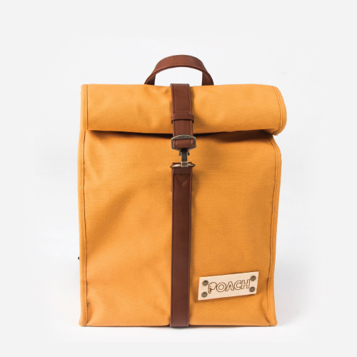 ISLETA BACKPACK-MUSTARD